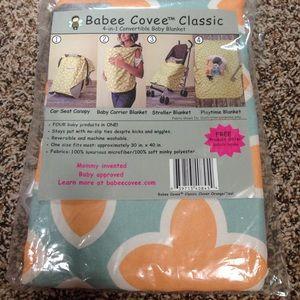 Babee Covee 4-in-1 convertible baby blanket